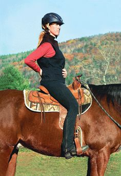 Become a Balanced Rider...We must put 75% of our energy on ourselves and only give the horse 25%. Fix ourselves first