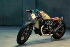 "Honda CX500 – Kingston Customs ""After 35 years the CX500 is continuing its second coming and receiving a lot of love from bike builders across the globe. This time, it's from our German friends at Kingston Customs. Their last build was a stunning..."