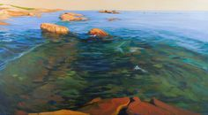Karen Kruse. Seascapes and water images.