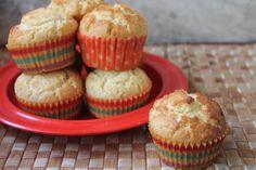 Bakery Style Vanilla Muffins Recipe - Yummy Tummy