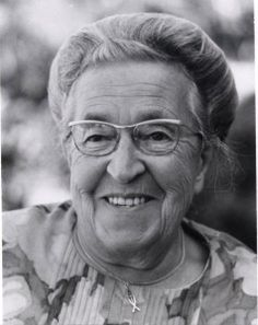 "Corrie ten Boom - Great woman of faith and heroism, who hid Jews in a ""hiding place"" above her father's watch-shop.  Amazing."