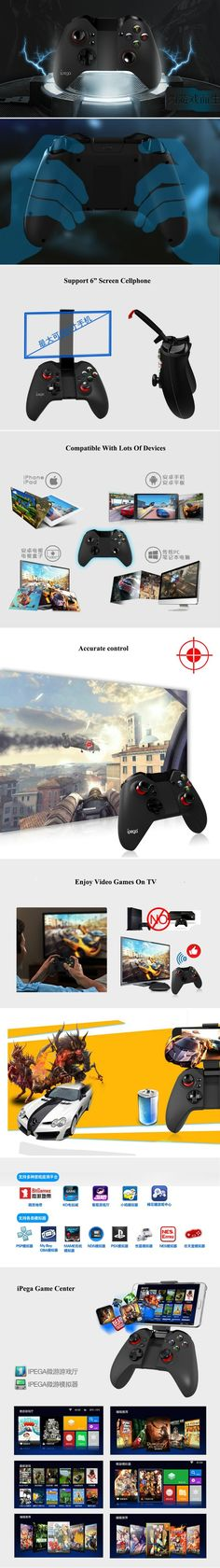 iPega PG-9038 Wireless Bluetooth Android gamepad Console Gaming Controller PC Joystick Game Controller For iPhone Android TV