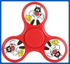Sylvester and Tweety Mysteries TweetyBird Looney Tunes Fidget Spinner Toy Cartoon Tri-Hands Stress Reducer EDC ADD ADHD - Fidget spinner (*Amazon Partner-Link)
