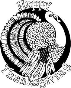 Crayola freebie-Thanksgiving Turkey coloring page