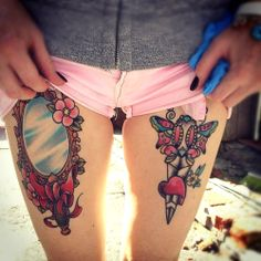 Dagger tattoo. For more amazing tattoos visit www.tattooenigma.com