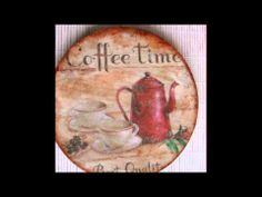 Atelier Amber decoupage Coffee ManiArt