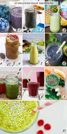 This is GENIUS! Delicious tasting smoothies with hidden veggies - the kids won't have a clue! Click the picture to see them all