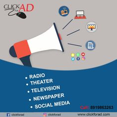Top & Best Advertising Agency in Hyderabad Offers Newspaper Advertising Services, Radio Advertising Services, TV Advertising Services, Socialmedia Advertising Services, Cinema Advertising Services in Various Languages. Radio Advertising, Advertising Industry, Advertising Services, Marketing Poster, Marketing Branding, Digital Marketing, Media Magazine, Newspaper Advertisement, News Media