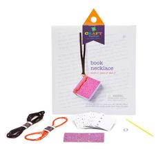 Craft-tastic Book Necklace Kit