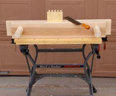 Impressive Build Your Own Garage Workbench Ideas. Irresistible Build Your Own Garage Workbench Ideas. Woodworking Bench Plans, Woodworking Projects For Kids, Woodworking Joints, Woodworking Workshop, Woodworking Supplies, Woodworking Furniture, Fine Woodworking, Woodworking Classes, Wood Projects