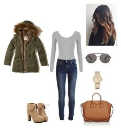 """""""Untitled #511"""" by fashiongirl-8808 ❤ liked on Polyvore featuring TURNOVER, Hollister Co., Vacheron Constantin, Givenchy, Seafolly, WearAll and VILA"""