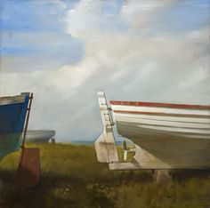 White Rudder  ARTIST:Randall Exon (American) CREATION YEAR:2011 PRICE:$18,000 Purchase  MEDIUM:Oil on linen MOVEMENT & STYLE:Contemporary Realism HEIGHT:22 in. (56 cm) WIDTH:22 in. (56 cm) GALLERY LOCATION:New York, NY