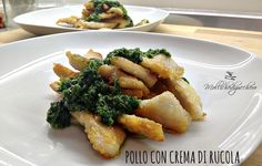 #Pollo con #crema di #rucola - Mollichedizucchero
