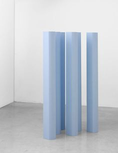 ruiard:           Ettore Spalletti - Small movement 6       Pigment On Wood, each 150 X 16 X 16 cm, 2001 | simply aesthetic