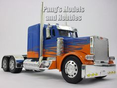 Peterbilt 379 Custom Truck Cab Diecast Metal 1/32 Scale Model by NewRay