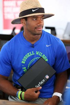 Russell Wilson and the Surface!