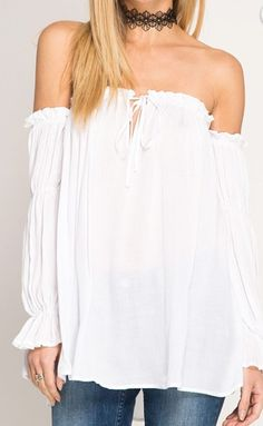 Tied Up Strapless Top
