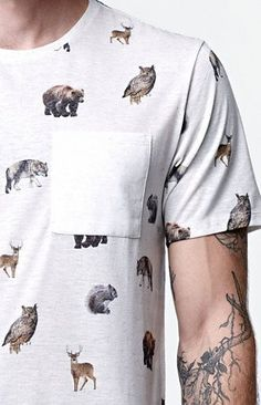 Casual printed tshirt for men ⋆ Men's Fashion Blog - #TheUnstitchd