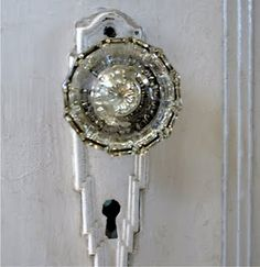 Good Vintage Crystal Door Knob