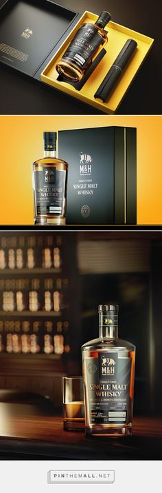 Check out Israel's First Single Malt Whisky - packaging design by Plan b creative team​ - http://www.packagingoftheworld.com/2017/06/israels-first-single-malt-whisky.html