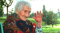JEANNE CALMENT (pictured), who lived for 122 years and 164 days (longer than any other person), said the secret to her longevity was a diet rich in olive oil, port...