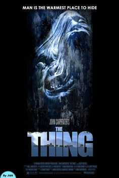 Watch->> The Thing 1982 Full - Movie Online Horror Icons, Sci Fi Horror, Horror Movie Posters, Cinema Posters, Arte Horror, Movie Poster Art, Movies And Series, Cult Movies, Sci Fi Movies