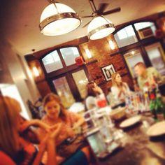 Lively #bar scene at #Acqua at Peck Slip restaurant