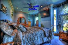 Blue Ocean Bed Room