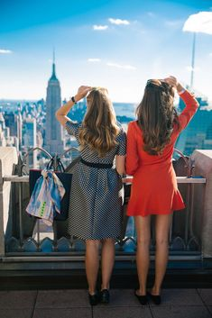 Be a tourist for a day in New York City!