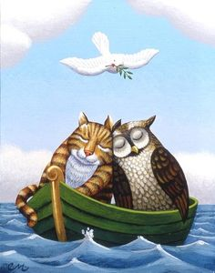 THE OWL AND THE PUSSYCAT BY CHRIS MILES