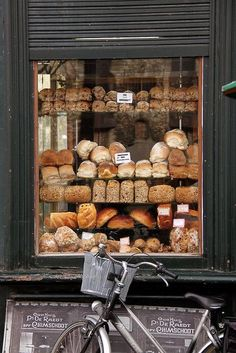 Himschoot Bakery | Ghent. (my kind of store window)
