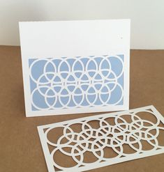 ScanNCut Canvas how to make a decorative frame and then turn it into a card.