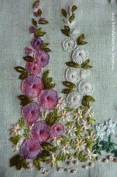 Embroidery Tattoo How Is It Done. Crewel Embroidery Needle until Wool Embroidery Designs while Embroidery Miami most Jacobean Crewel Work Images Types Of Embroidery, Paper Embroidery, Hand Embroidery Stitches, Silk Ribbon Embroidery, Crewel Embroidery, Vintage Embroidery, Embroidery Techniques, Cross Stitch Embroidery, Machine Embroidery