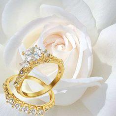 Engagement Ring Set #blingjewelry
