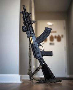 Steelyarddog I Always Want What I Cannot Have Ak 47, Weapons Guns, Guns And Ammo, Rifles, Armadura Sci Fi, Tactical Ak, Aigle Animal, Ar Rifle, Hand Cannon