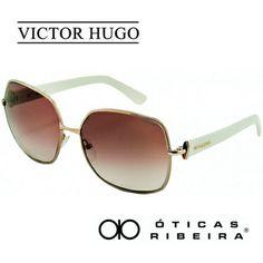 f6c059758b624 NOVO óculos de sol Victor Hugo! Este modelo 1159 possui uma combinação de  cores de