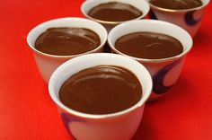 A dairy free chocolate pudding recipe made with Salba or chia seeds.