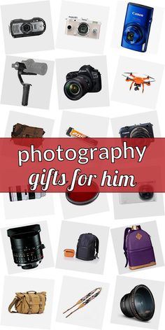Are you searching for a present for a photographer? Get inspired! Checkout our ulimative list of gifts for phtographers. We have cool gift ideas for photographers which are going to make them happy. Buying gifts for photographers doenst need to be hard. And do not have to be costly. #photographygiftsforhim Photography Gifts, Canon Photography, Cute Messy Buns, Gifts For Photographers, Popsugar, Cool Gifts, All In One, Gifts For Him, Searching