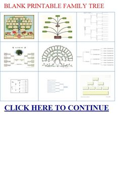 Family Tree Templates – Download Over 20 Free Family Tree Template ...