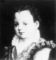 Eleonore de' Medici (1567-1611) as a child