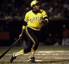 "Willie ""Pops"" Stargell, he had been around on the 71 World Champion Pirates-but it was his role as team leader on the 79 Champions that made his name a household one for that Fall Classic. Baseball Uniforms, Baseball Players, Baseball Field, Mlb Uniforms, Pittsburgh Pirates Baseball, Pittsburgh Sports, Pittsburgh Penguins, Baseball Crafts, Baseball Quotes"