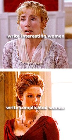 I want to write about women?