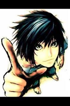 Render L Death Note by on DeviantArt Death Note L, Death Note Anime, I Love Anime, Awesome Anime, Me Me Me Anime, Anime Guys, Erza Scarlet, Geeks, L Ryuzaki