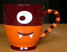 Doesn't this mug scream hot spiced cider?  Its a monster mug from Starbucks.