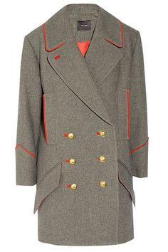 Isabel Marant Military Inspired Coat