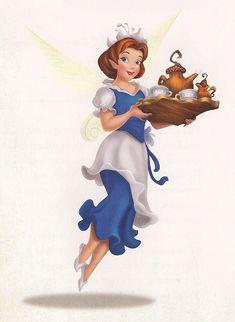 the disney fairies of pixie water talent   Wikia-LAIDEL