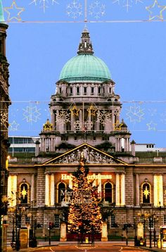 City Hall, Belfast, County Antrim, Ulster, Northern Ireland