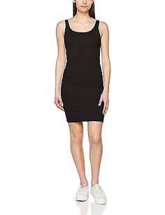 40 (Manufacturer size: Large), Black, ONLY Women's Onlmilan S/L Bodycon Jrs Dres