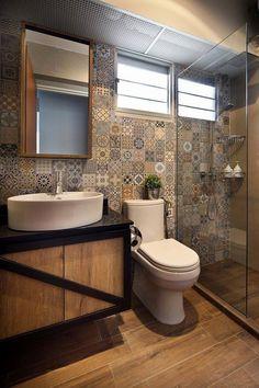 Bathroom Tiles Singapore bathroom #toilet #hdb #singapore #bto #interior #design