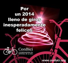 Felicitación de ConBici al 2014
